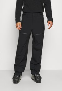 Oakley - LINED SHELL PANT - Snow pants - blackout - 0