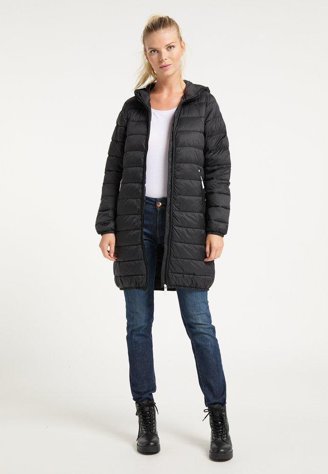 Płaszcz zimowy - schwarz