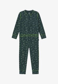 Claesen's - BOYS ONEPIECE - Pyjamas - dark green/light green - 2