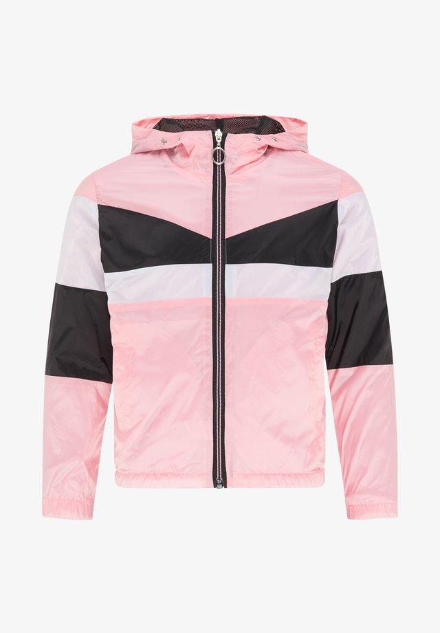Chaqueta fina - rosa