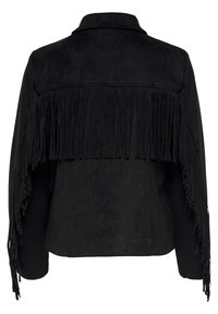ONLY - Faux leather jacket - black - 5