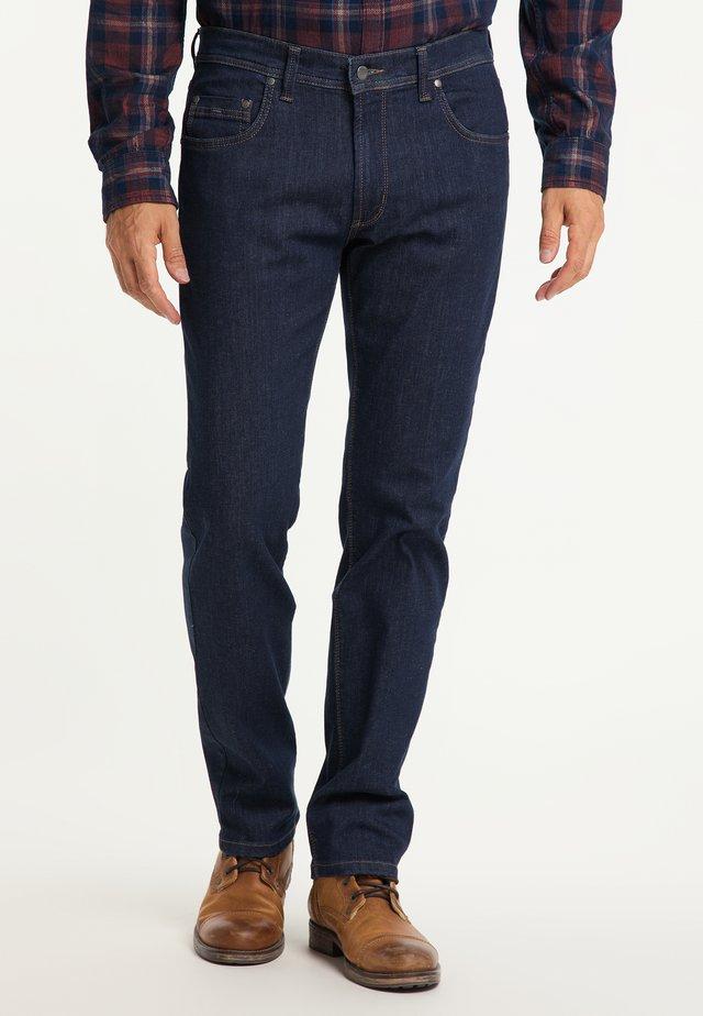 RANDO MEGAFLEX - Straight leg jeans - dark stone