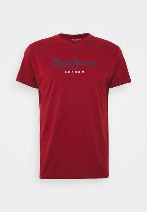 EGGO - Print T-shirt - merlot