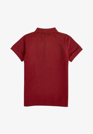 BERRY TEXTURED POLO (3-16YRS) - Polotričko - red