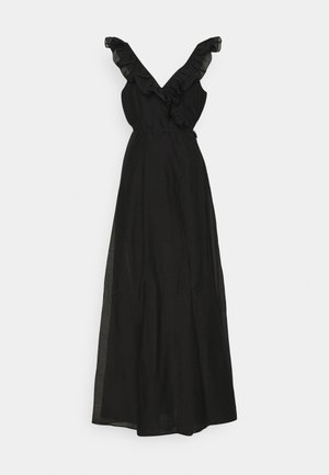 SONIA LONG GOWN - Iltapuku - black