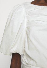 DESIGNERS REMIX - SANDRA PUFF DRESS - Fodralklänning - cream - 7
