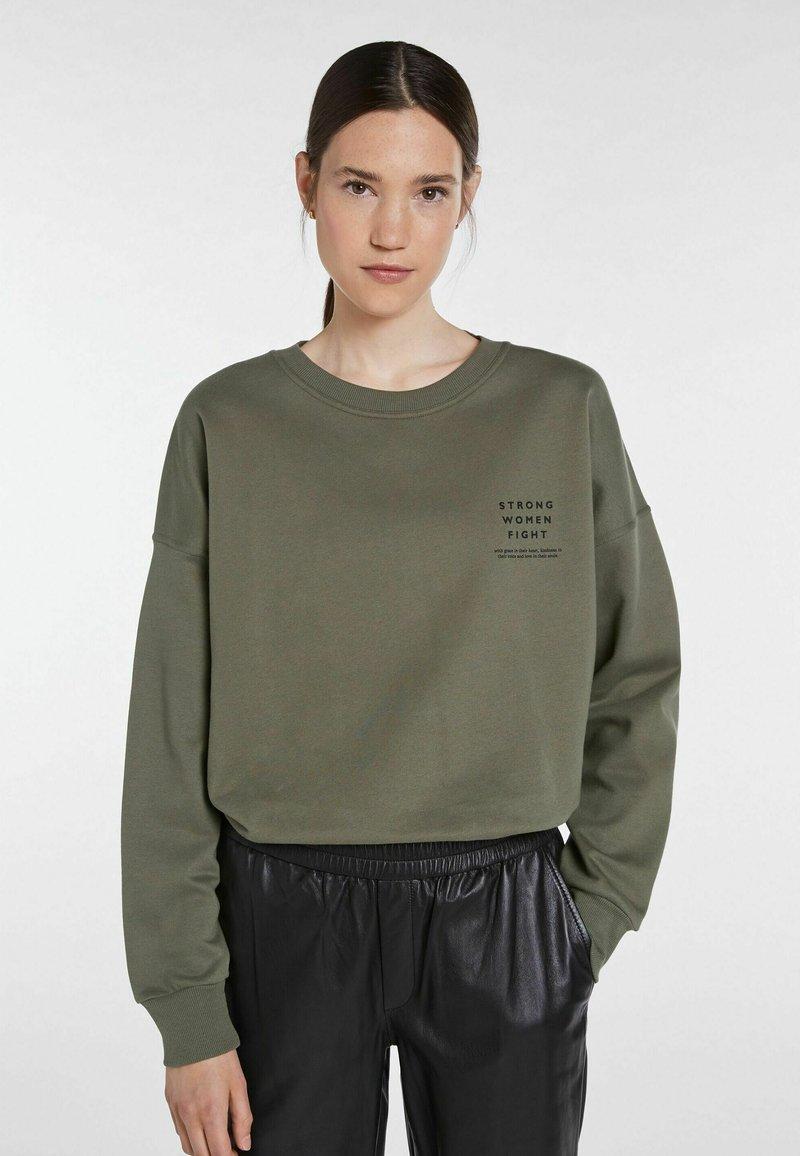 SET - STATEMENT - Sweatshirt - ivy green
