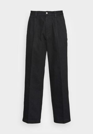 THURSTON PANT - Straight leg -farkut - black