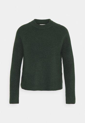 PCELLEN  O NECK - Svetr - dark green