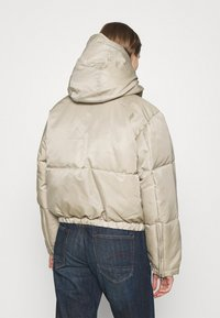 Weekday - HANNA SHORT PUFFER JACKET - Winter jacket - beige - 2