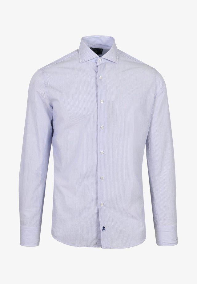 Camicia elegante - blue stripes