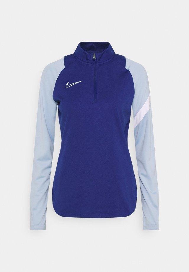 DRY DRIL - Sports shirt - deep royal blue/lt armory blue/white