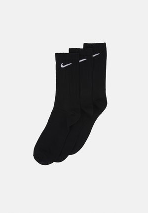 EVERYDAY LIGHTWEIGHT 3 PACK UNISEX - Calcetines de deporte - black/white