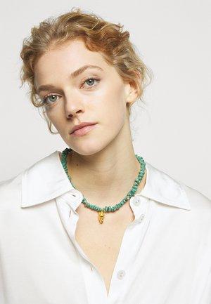 TÝCHE NECKLACE - Náhrdelník - gold-coloured/turquoise