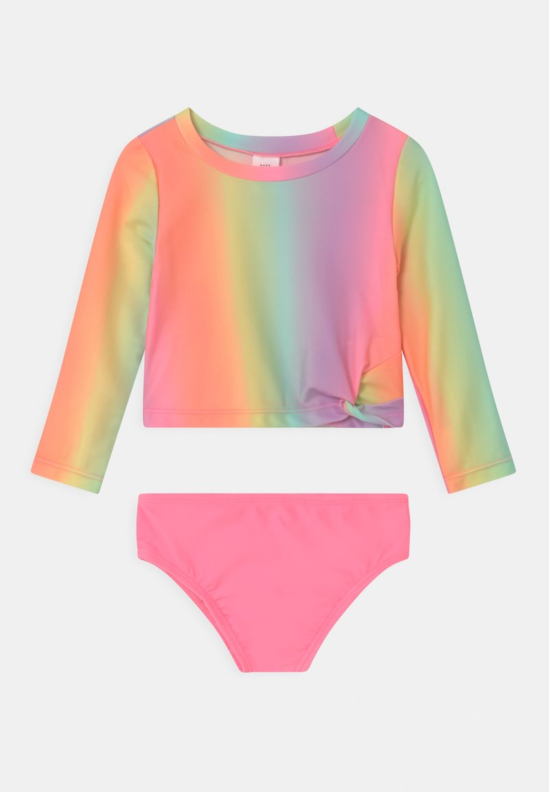 GAP - TODDLER GIRL SET - Swimsuit - ombre coral
