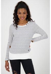 alife & kickin - Print T-shirt - pearl - 0