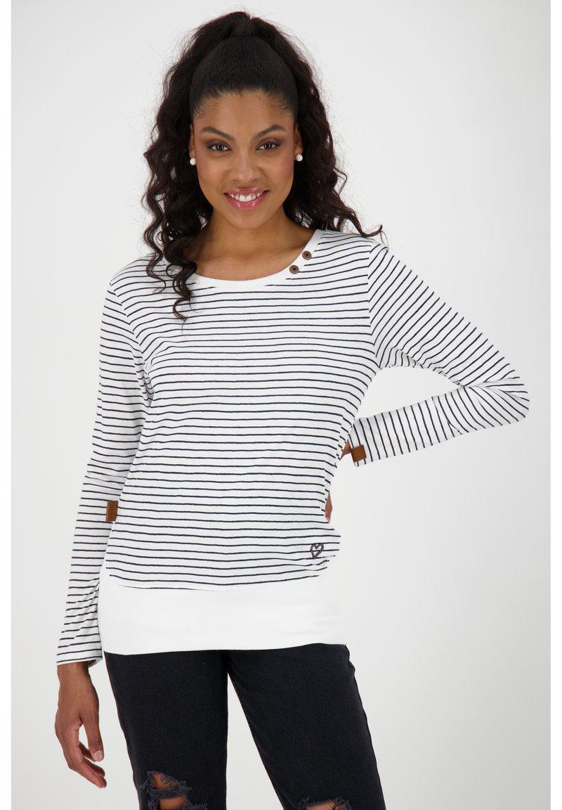 alife & kickin - Print T-shirt - pearl