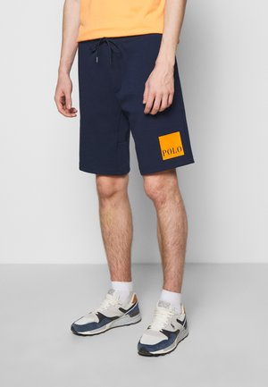 TECH - Tracksuit bottoms - cruise navy