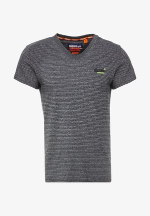 ORANGE LABEL VINTAGE - Print T-shirt - navy grey feeder