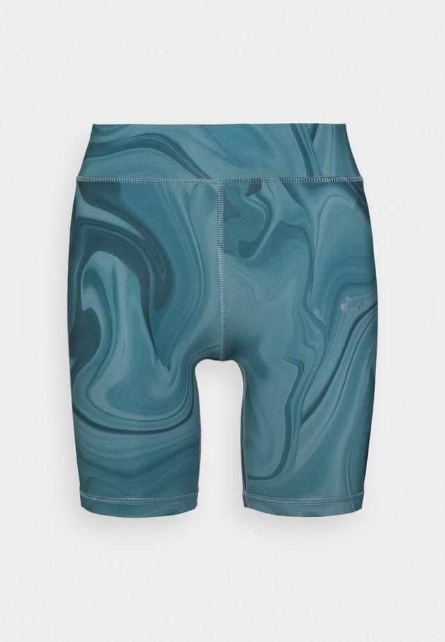 ONPSMAYA LIFE TRAINING SHORTS - Leggings - goblin blue