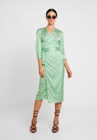 Aéryne - COWRY DOT DRESS - Day dress - mint - 1