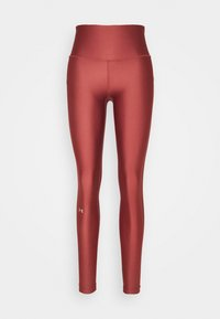 Under Armour - HI RISE LEGGING - Trikoot - cinna red - 4