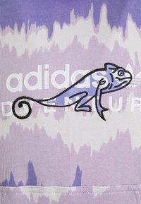 adidas Originals - HOODY UNISEX - Sweatshirt - light purple/multicolor - 5