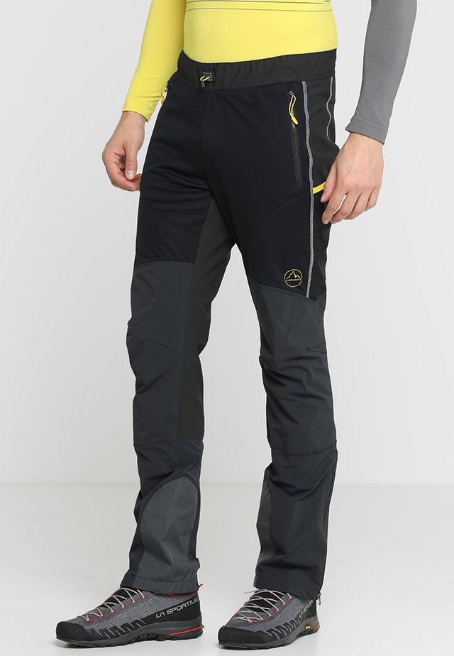 SOLID PANT  - Ulkohousut - black