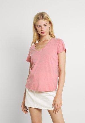 THE DEEP  - T-shirt - bas - washed petal pink