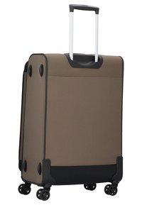 Stratic - BENDIGO - Wheeled suitcase - brown - 1