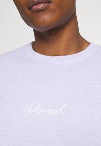 Topman - PARIS TEE - T-shirts print - lilac - 5