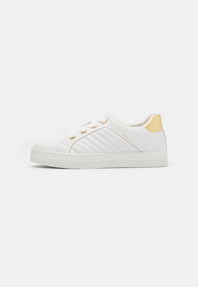 AVONA - Zapatillas - bright white/gold