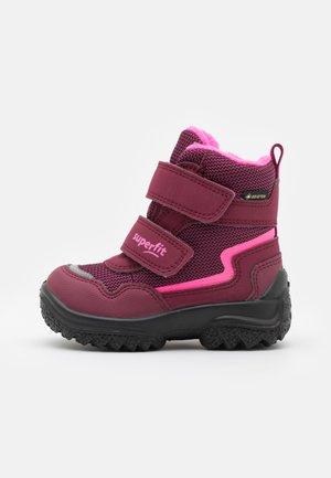 SNOWCAT - Snowboots  - rot/rosa