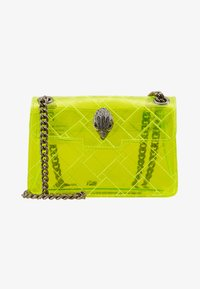 Kurt Geiger London - TRANSPARENT MINI KEN - Across body bag - yellow - 1