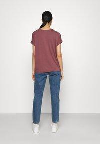 ONLY - ONLMOSTER ONECK - T-shirt basic - rose brown - 2