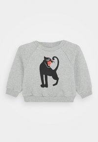 Mini Rodini - BABY PANTHER UNISEX - Sweatshirt - grey melange - 0