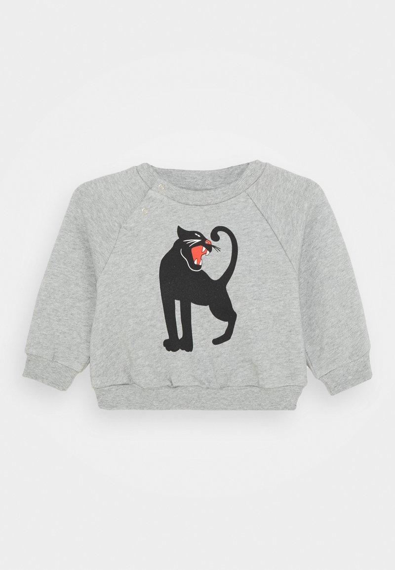 Mini Rodini - BABY PANTHER UNISEX - Sweatshirt - grey melange