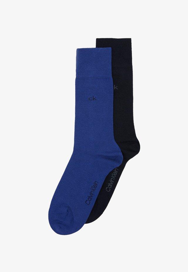 MEN CREW CASUAL 2 PACK - Socks - blue combo