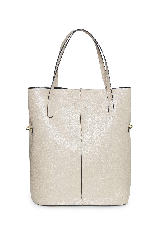 Karen By Simonsen Dorikb - Shopping Bag Smoke Gray/beige