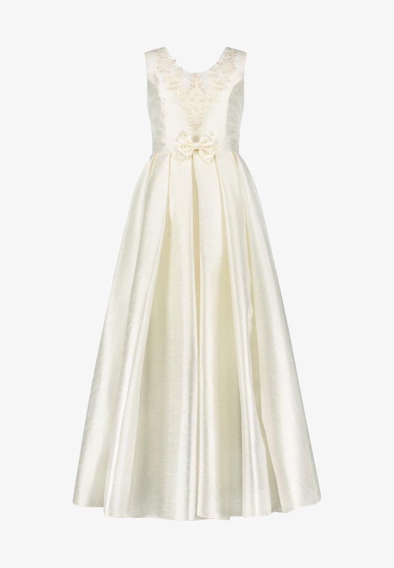 Prestije - MIT BESTICKUNG TRAUMHAFTES PRINZE - Maxi dress - weiß