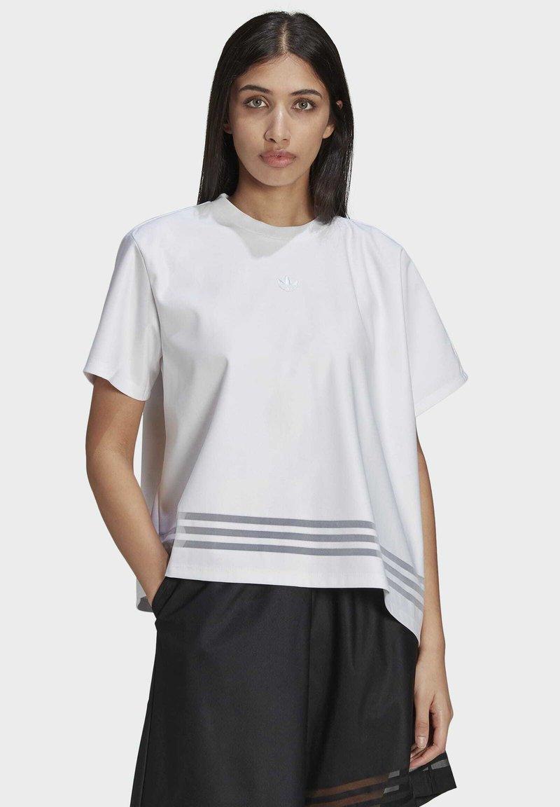 adidas Originals - Print T-shirt - white