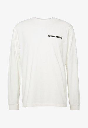 RUDI - Pitkähihainen paita - chalk white