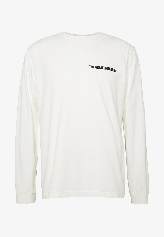 RUDI - Long sleeved top - chalk white