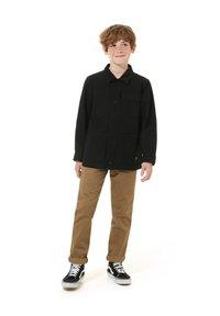 Vans - BY DRILL CHORE COAT BOYS - Summer jacket - black - 0