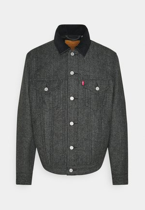 TRUCKER - Denim jacket - grey