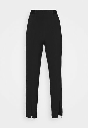 ELLA TROUSER - Kalhoty - black
