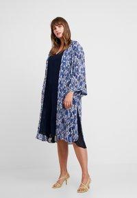 Evans - SNAKE KIMONO - Summer jacket - blue - 1