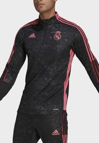 adidas Performance - REAL MADRID AOP TR TOP - Landslagströjor - black - 3