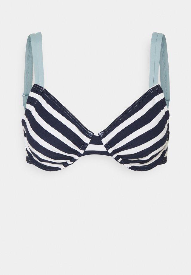 TAMPA BEACH BRA - Top de bikini - navy