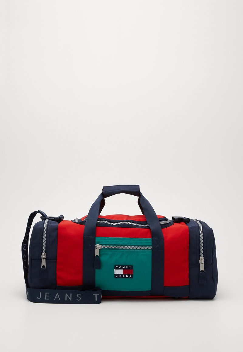 Tommy Jeans - HERITAGE DUFFLE - Weekend bag - green